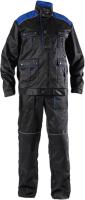 Комплект рабочей одежды Стецкевич Неман (р-р 182-188/52-54, васильковый/черный) -