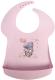 Нагрудник детский Пластишка Me To You с карманом / 2111490 (розовый) -