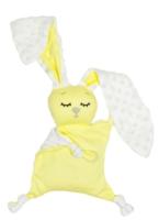 Игрушка-грелка детская Amarobaby Flax Love / AMARO-41CLF-Y0 (желтый) -