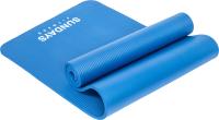 Коврик для йоги и фитнеса Sundays Fitness LKEM-3006B (183x61x1.2см, голубой) -