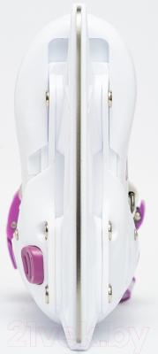 Ролики-коньки Sundays PW-223B-90-1 (XS, белый/фиолетовый)