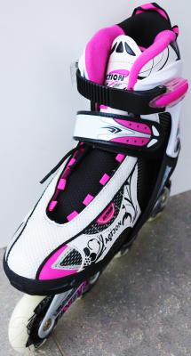 Роликовые коньки Action 112X (S, розовый)