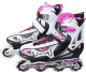 Роликовые коньки Action 112X (S, розовый) -