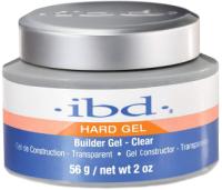 Моделирующий гель для ногтей IBD Builder Gel Clear конструирующий прозрачный (56г) -