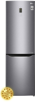 Холодильник с морозильником LG GA-B419SLGL -