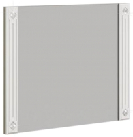 Зеркало СТИЛЬ Амели / 220205 (сонома светлая/белый глянец) -