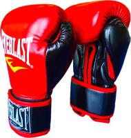 Боксерские перчатки Everlast D107 10oz (черный/красный) -