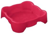 Песочница-бассейн PalPlay Квадратная 374 (красный) -