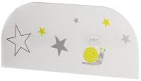 Ограждение для кровати BTS Звездное детство / ЗБ-01 (белый) -
