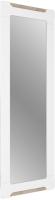 Зеркало СТИЛЬ Палермо 3 ЗН-027 / 220270 (ясень шимо светлый/белый глянец) -