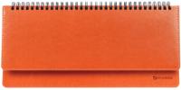 Планинг Brauberg Rainbow / 111701 (оранжевый) -