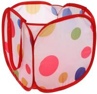 Корзина Наша игрушка Цветной горошек / 889-103B -