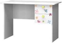 Письменный стол Премиум Смарти (белый/совята) -