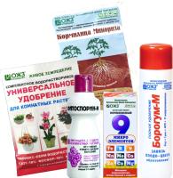 Набор средств защиты растений ОЖЗ Цветение комнатных растений -
