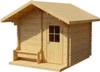 Хозблок деревянный Лесково ХБ-2 3.0x4.0 (прозрачный) -
