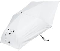 Зонт складной Miniso We Bare Bears Белый медведь / 6333 -