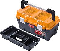 Ящик для инструментов Patrol Formula S500 Carbo (оранжевый, 462x256x242) -