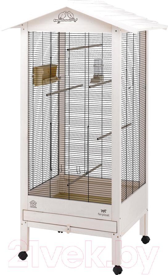 Купить Клетка для птиц Ferplast, Hemmy / 56160514, Италия, белый