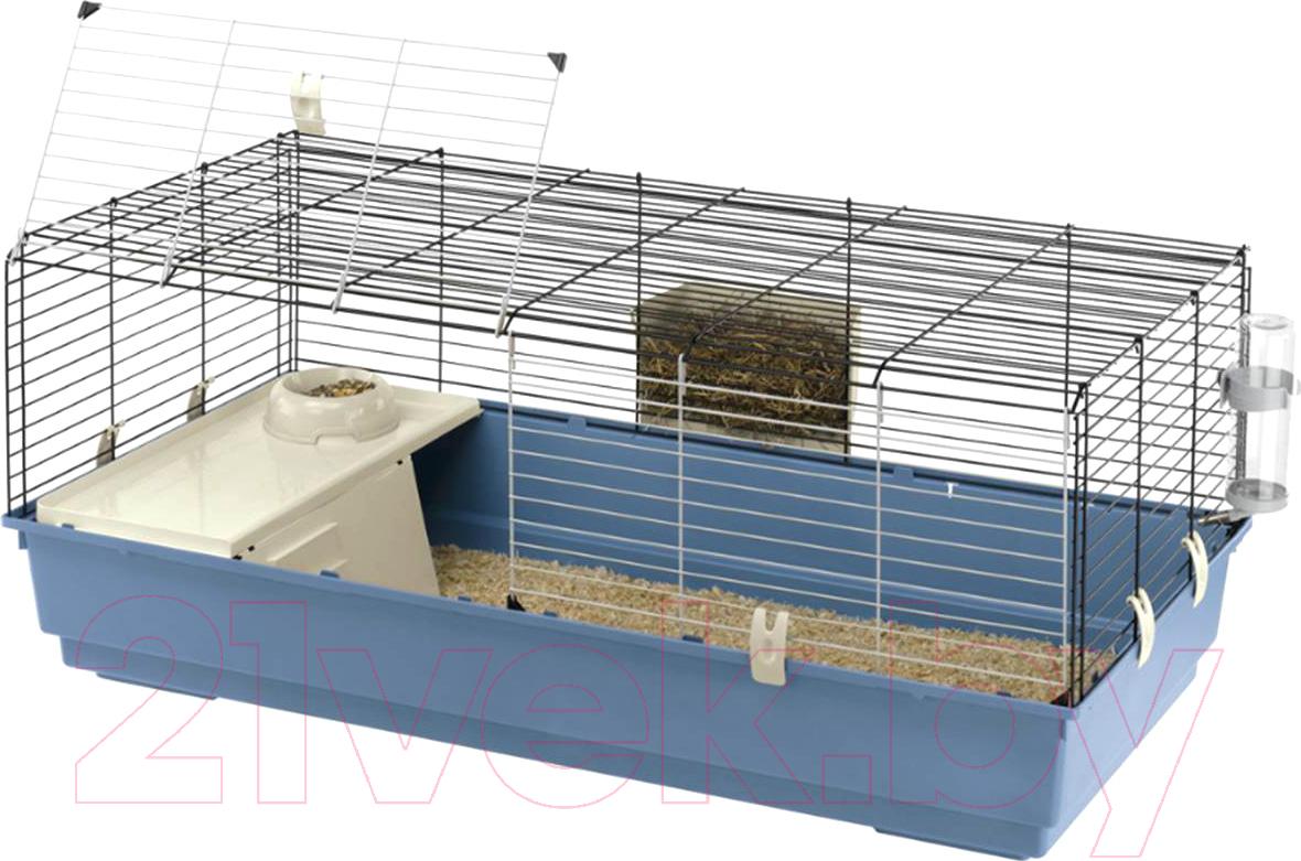 Купить Клетка для грызунов Ferplast, Rabbit 120 New / 57053417, Италия, голубой