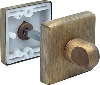 Фиксатор дверной защелки Morelli LUX-WC-Q CAFFE -