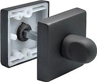Фиксатор дверной защелки Morelli LUX-WC-Q BLACK -
