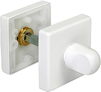 Фиксатор дверной защелки Morelli LUX-WC-Q BIA -