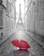 Фотообои Citydecor Красный зонт (200x254) -