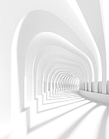Фотообои листовые Citydecor Пространство 3D (200x254) -