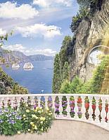 Фотообои Citydecor Фреска балкончик 3D (200x254) -