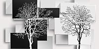 Фотообои листовые Citydecor Дерево 3D Инь-янь (300x150) -