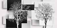 Фотообои Citydecor Дерево 3D Инь-янь (300x150) -