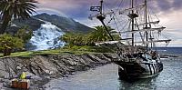 Фотообои Citydecor Пиратский корабль (300x150) -