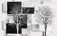 Фотообои Citydecor Дерево 3D Инь-янь (400x254) -