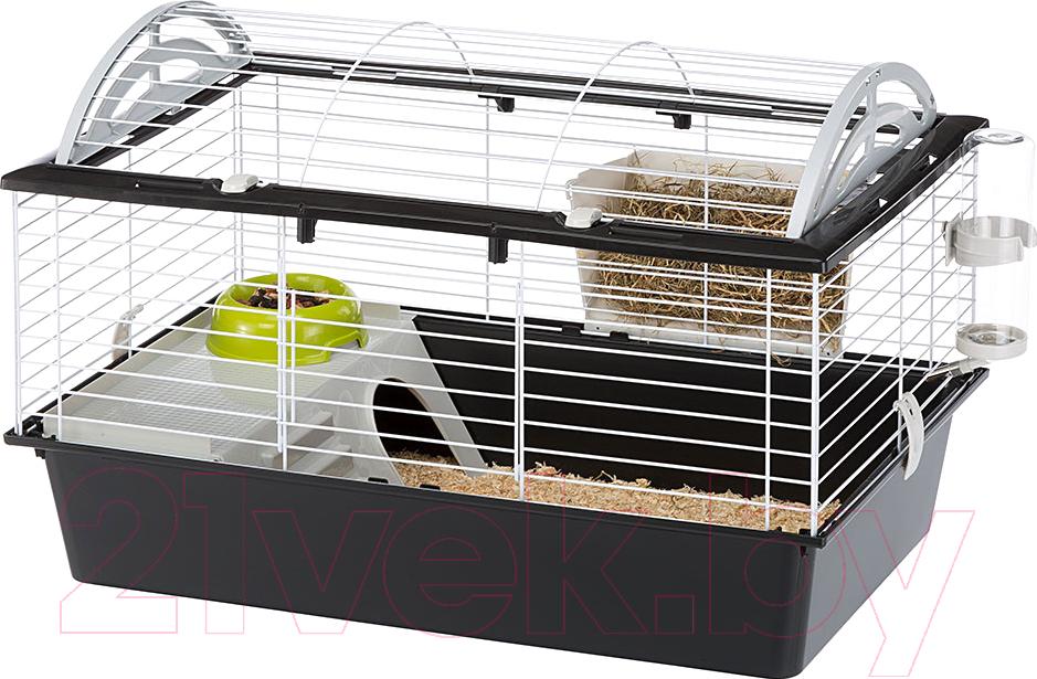 Купить Клетка для грызунов Ferplast, Casita 80 / 57065170 (черный), Словакия, белый
