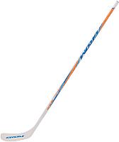 Клюшка хоккейная Grom Woodoo300 composite SR (белый, левая) -