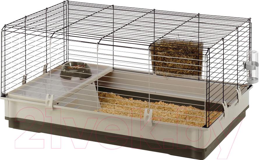 Купить Клетка для грызунов Ferplast, Krolik Large / 57070517, Италия, коричневый