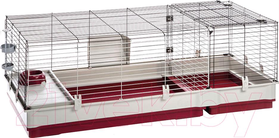 Купить Клетка для грызунов Ferplast, Krolik 140 / 57072470, Италия, белый
