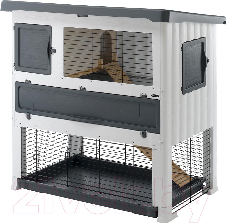 Купить Клетка для грызунов Ferplast, Grand Lodge 120 Plus / 57087800 (серый), Италия