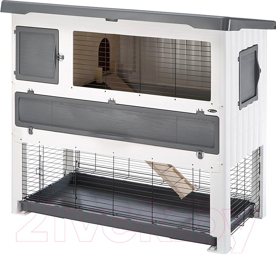 Купить Клетка для грызунов Ferplast, Grand Lodge140 Plus / 57087900 (серый), Италия