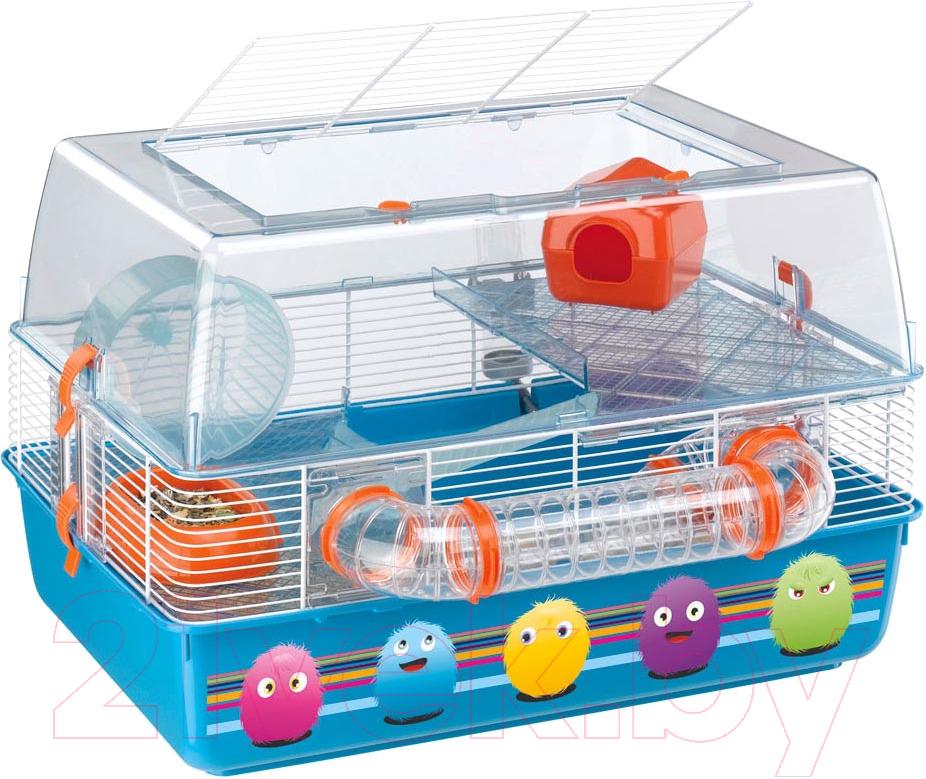 Купить Клетка для грызунов Ferplast, Duna Fun Decor / 57921469, Италия, белый