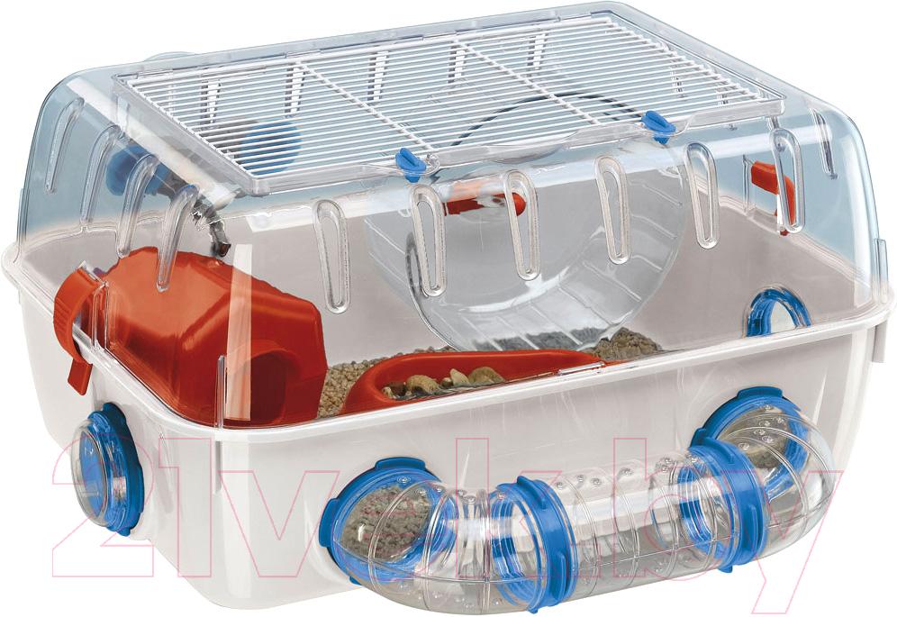Купить Клетка для грызунов Ferplast, Combi 01 / 57923499, Италия, белый