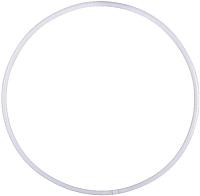 Обруч хула-хуп Amely AGO-101 для художественной гимнастики (75см, белый) -