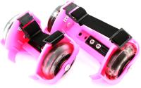 Ролики на обувь Sipl AG234A (розовый) -