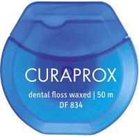 Зубная нить Curaprox С мятным вкусом (50м) -