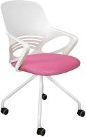 Кресло офисное Седия Indigo (ткань/сетка розовый) -