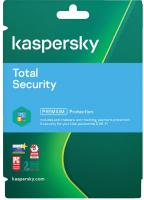 ПО антивирусное Kaspersky Internet Total Security 1 год Card / KL19392UCFS (на 3 устройства) -