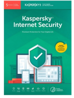 ПО антивирусное Kaspersky Internet Security 1 год Card / KL19392UEFS (на 5 устройств) -