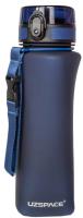 Бутылка для воды UZSpace One Touch Matte / 6028 (700мл, синий) -