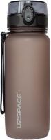 Бутылка для воды UZSpace Colorful Frosted Oak / 3037 (650мл, серый) -