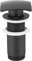Донный клапан Armatura 660-454-81 (черный) -